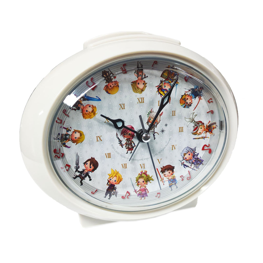 Final Fantasy Dissidia All Stars Character Clock