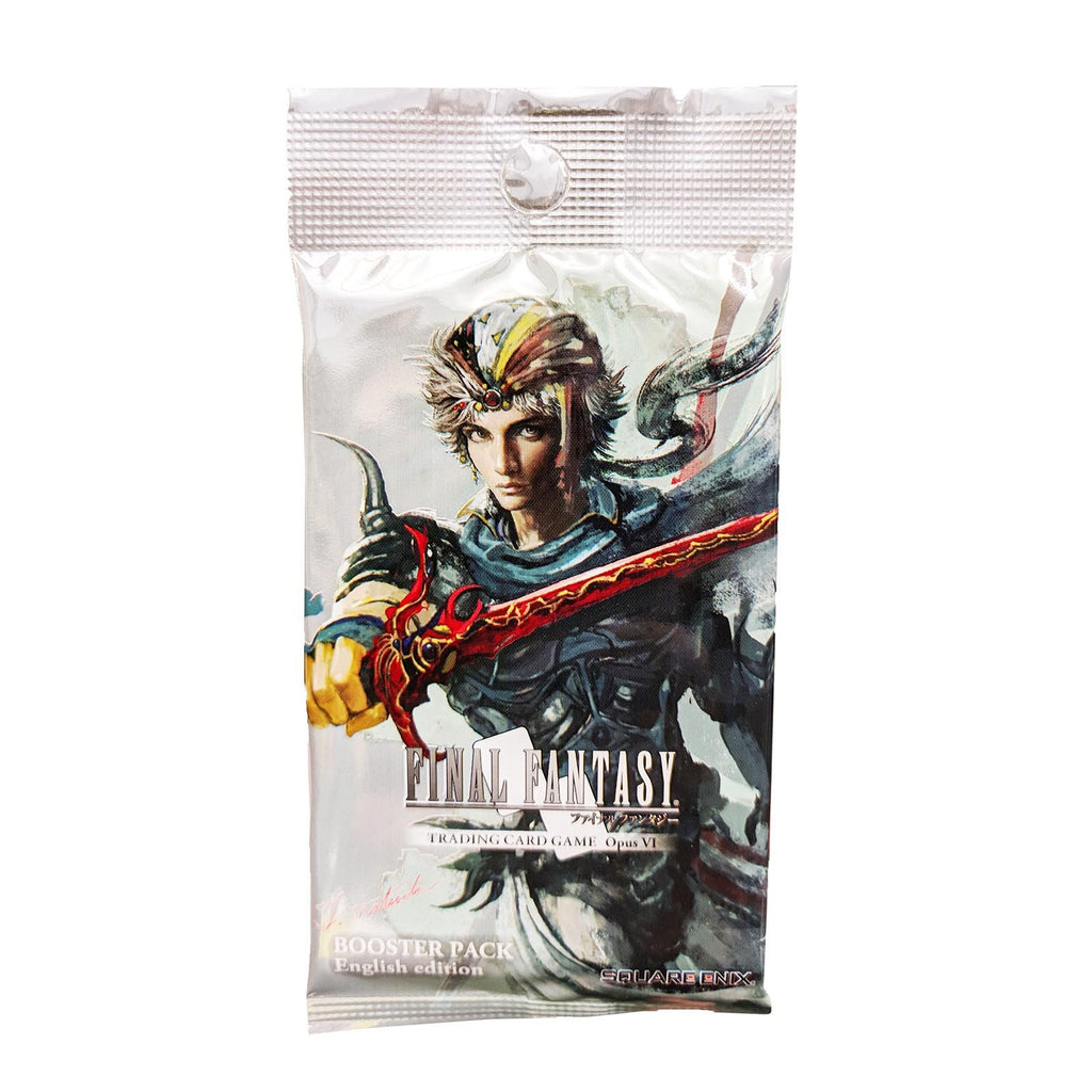 Final Fantasy VI Opus Booster Pack Trading Card Game