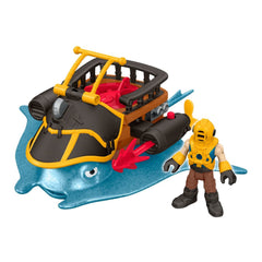 Fisher Price Imaginext Captain Nemo And Stingray