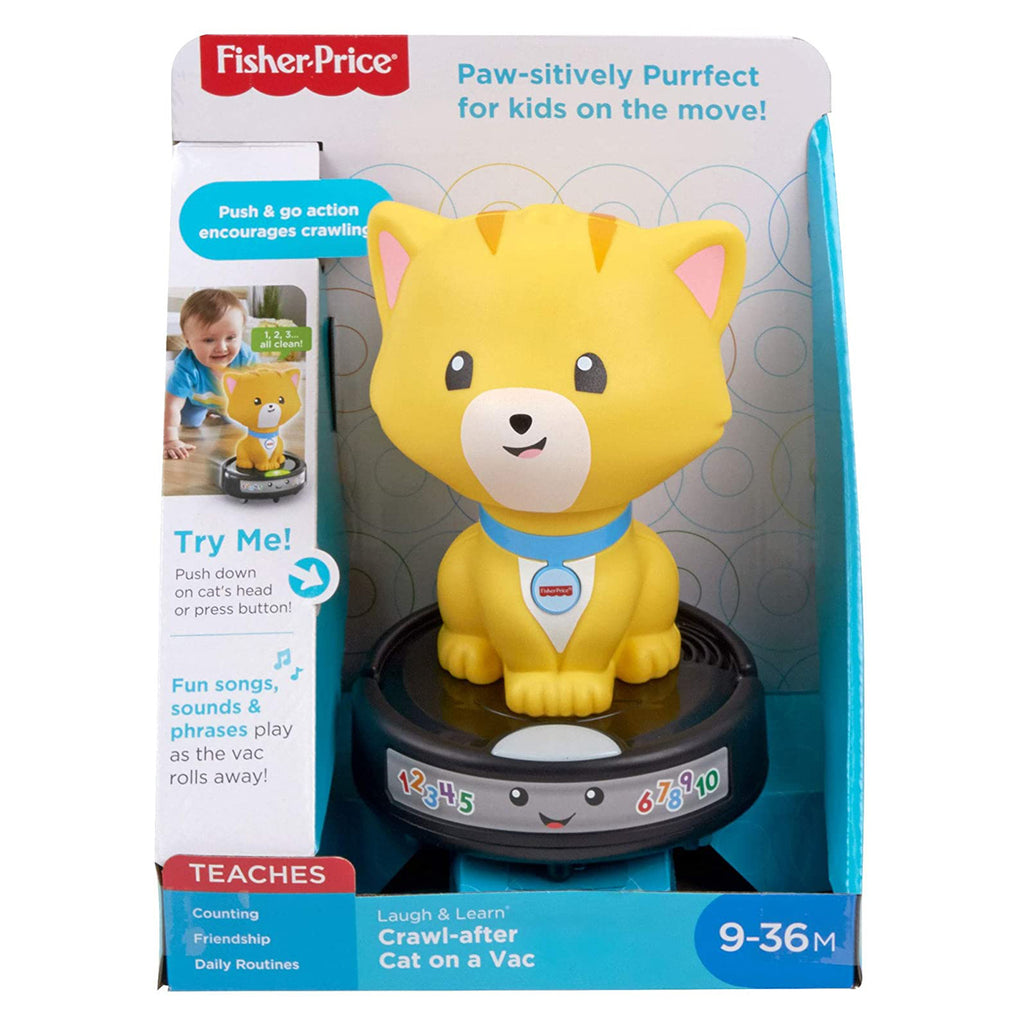 Fisher Price Laugh And Learn Cat On A Vac