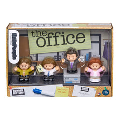 Fisher Price Little People Collector The Office 4 Figure Set