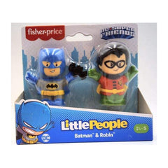 Fisher Price Little People DC Batman And Robin Figure Set