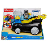 Fisher Price Little People DC Super Friends 2 In 1 Batmobile