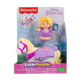 Fisher Price Little People Disney Princess Rapunzel Maximus Set