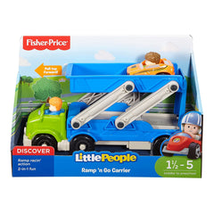 Fisher Price Little People Ramp N Go Carrier Set