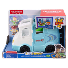Fisher Price Little People Toy Story 4 Jessie's Campground Set