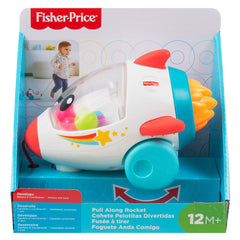 Fisher Price Pull Along Rocket