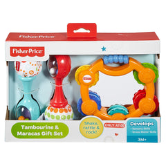 Fisher Price Tambourine And Maracas Gift Set