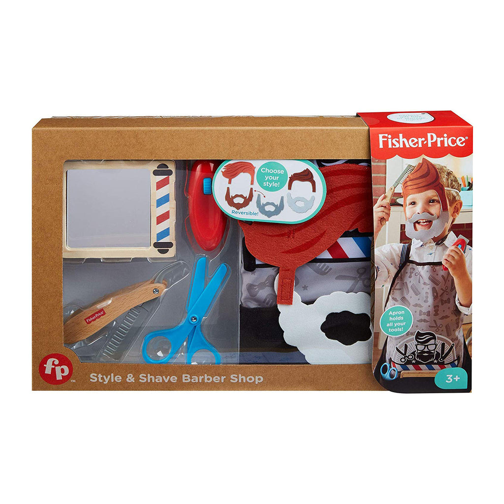 Fisher Price Barber Shop Set