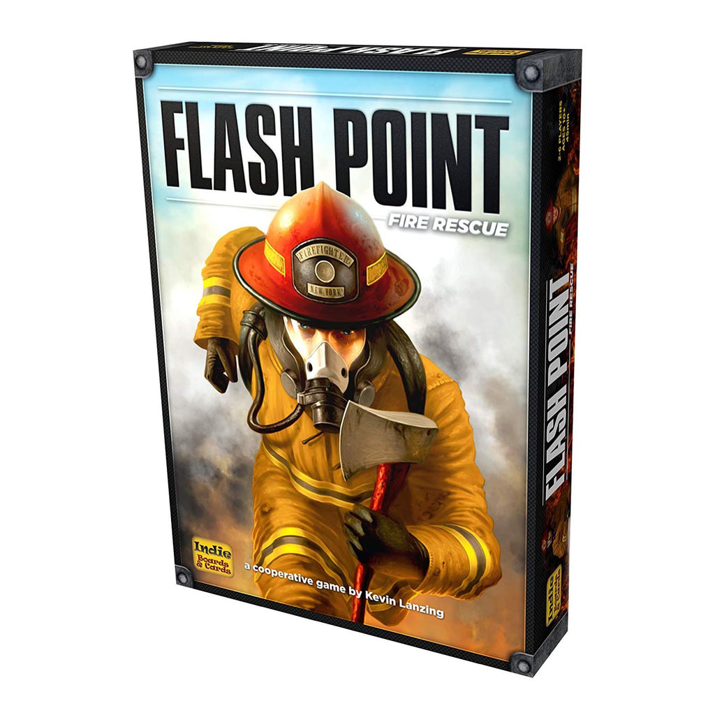 Flash Point Fire Rescue The Board Game