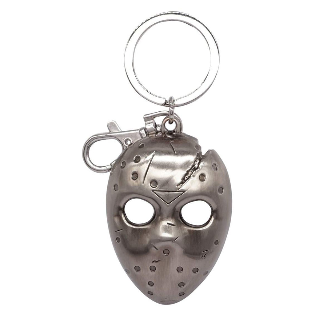 Friday The 13th Jason Voorhees Mask Metal Keychain