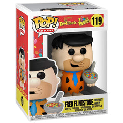 Funko Ad Icons POP Fred Flintstone With Fruity Pebbles Vinyl Figure