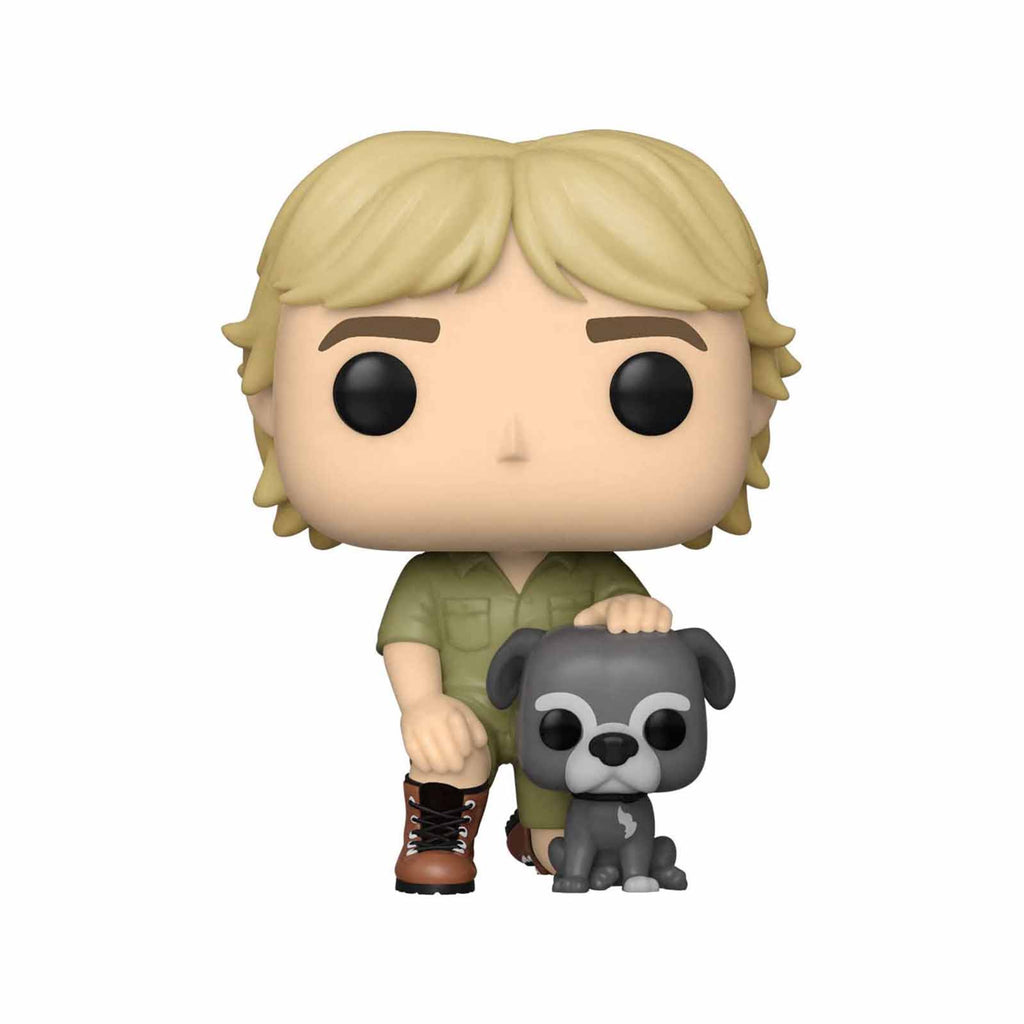 Funko Australia Zoo POP Steve Irwin With Sui Vinyl Figure