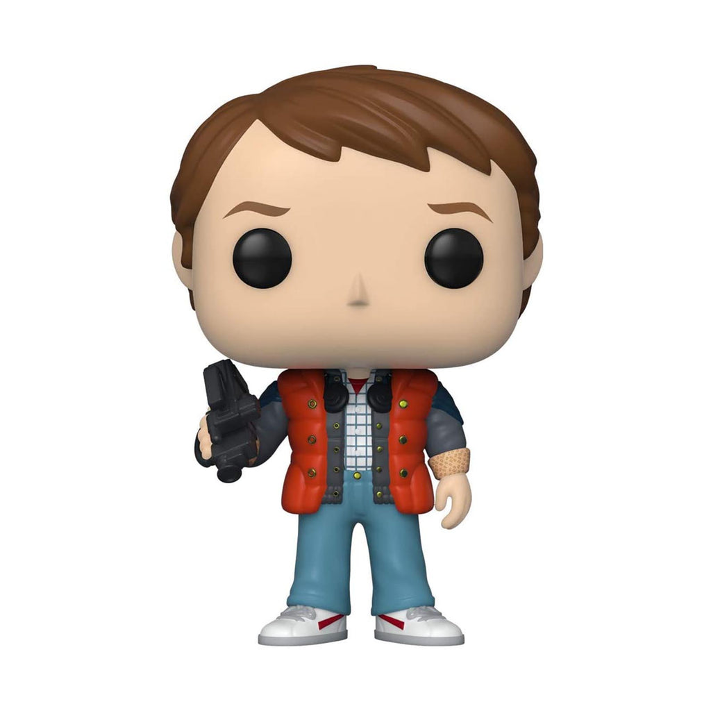 Funko Back To The Future POP Marty Puffy Vest Vinyl Figure