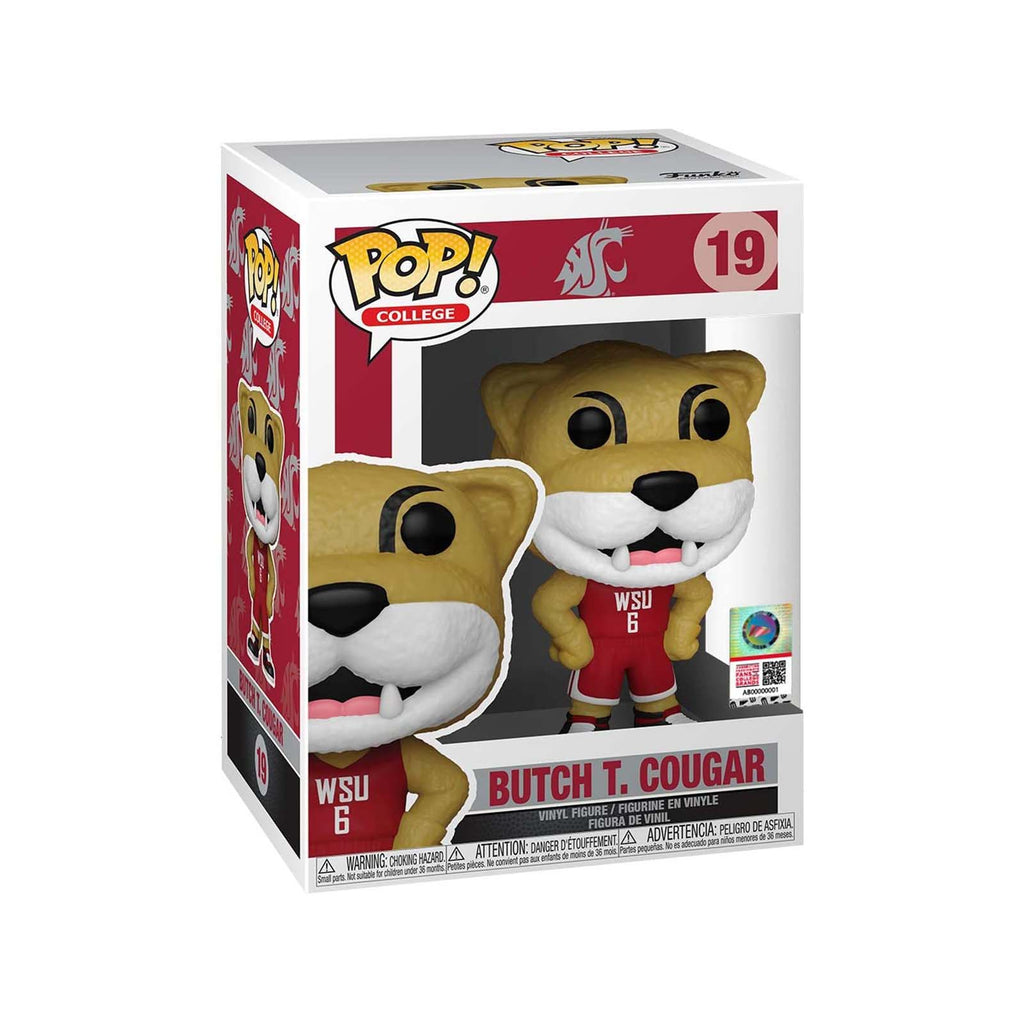 Funko College Washington State POP Butch T Cougar Vinyl Figure