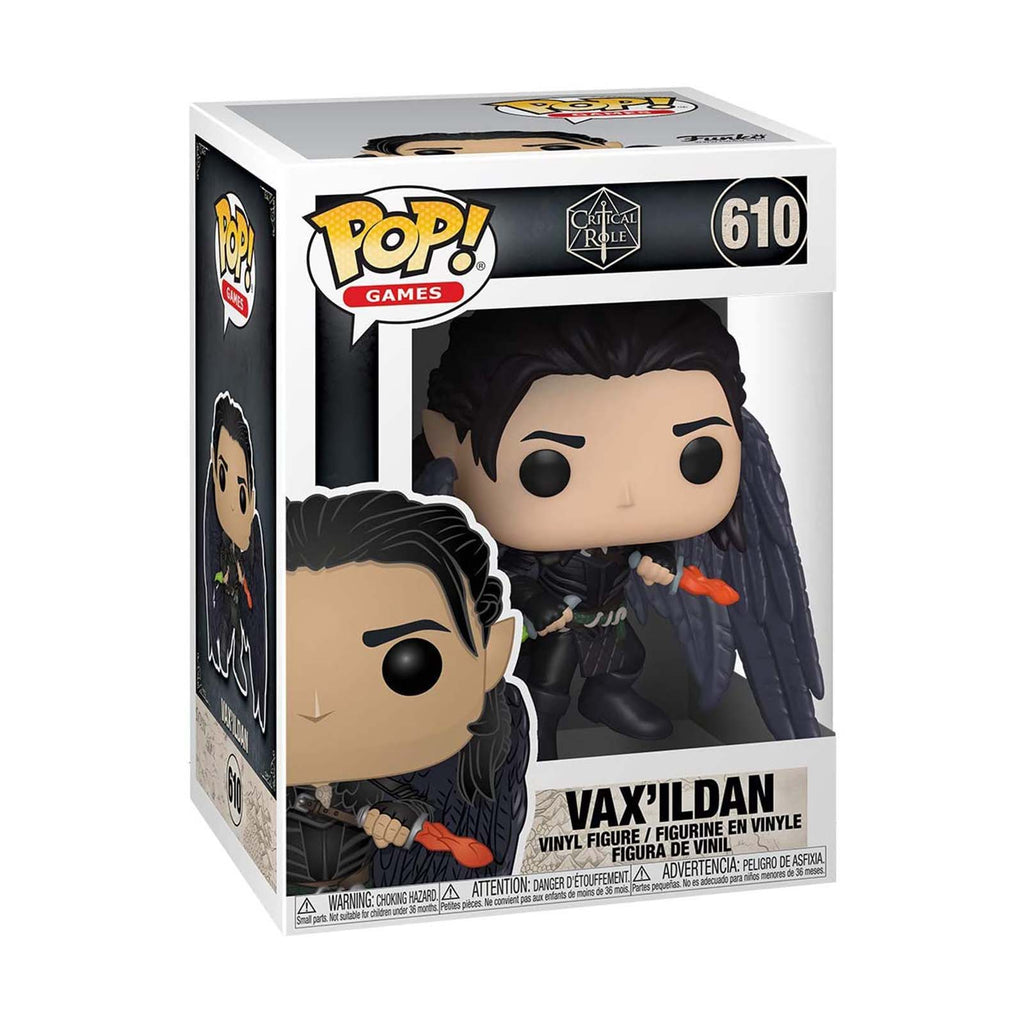 Funko Critical Role POP Vax'ildan Vinyl Figure