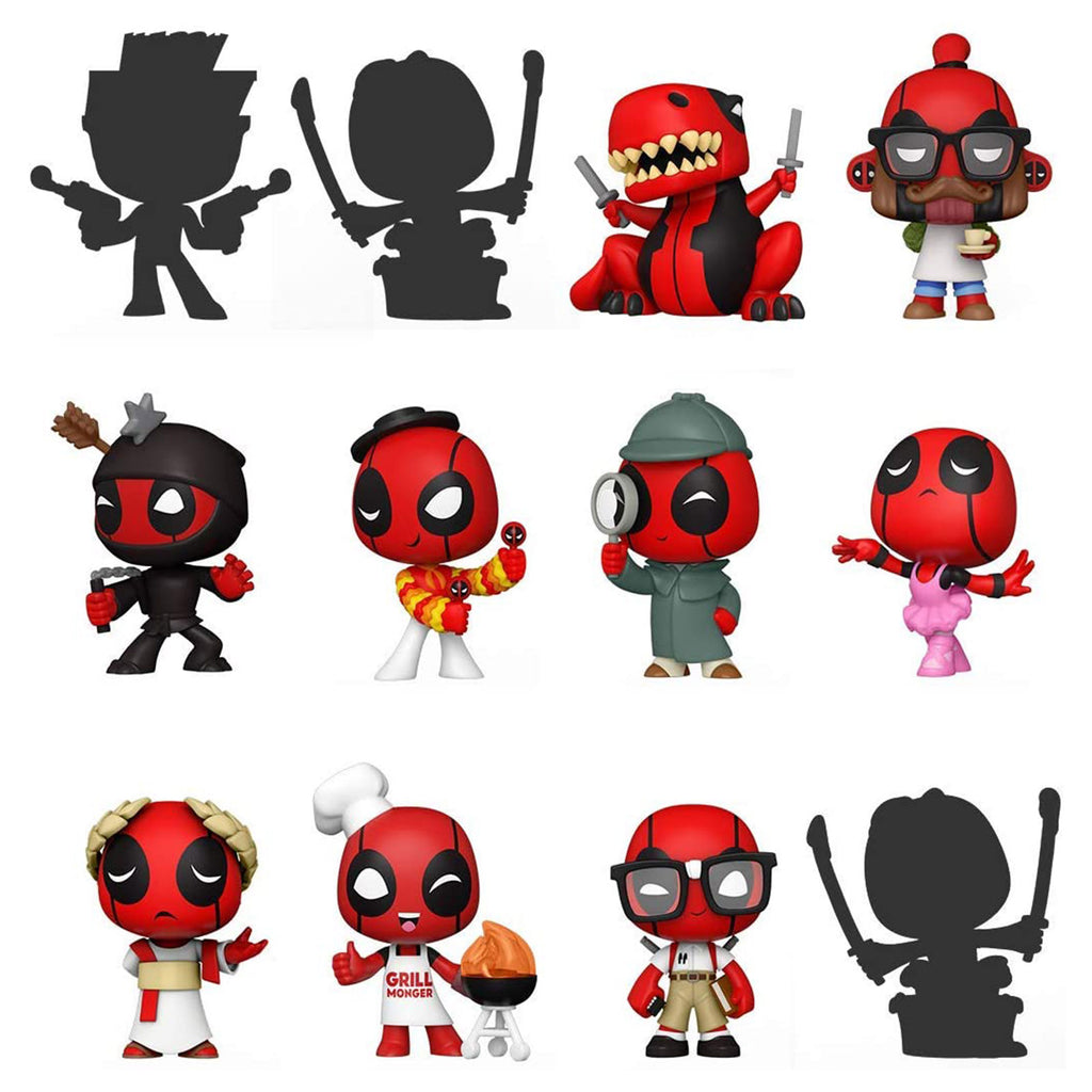 Funko Deadpool 30 Years Mystery Minis Blind Box Mini Figure