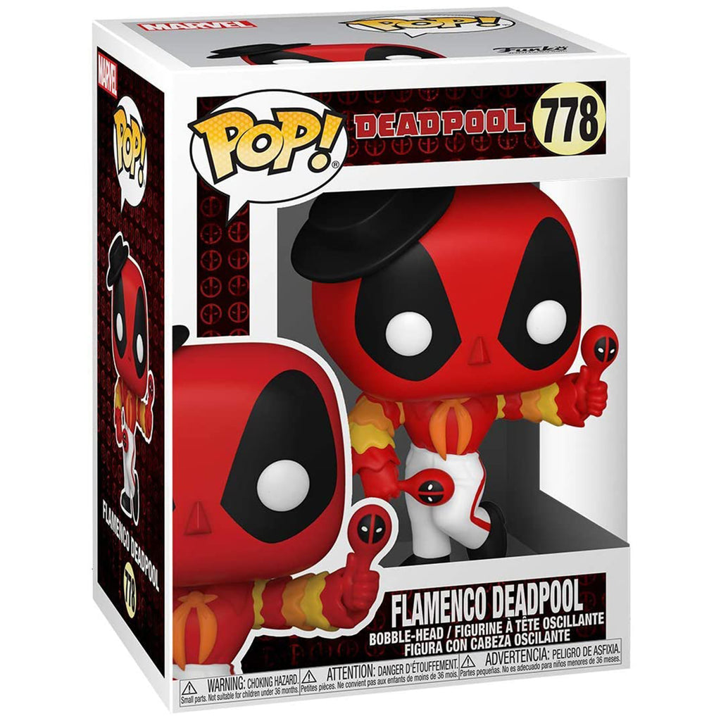 Funko Deadpool POP Flamenco Deadpool Vinyl Figure