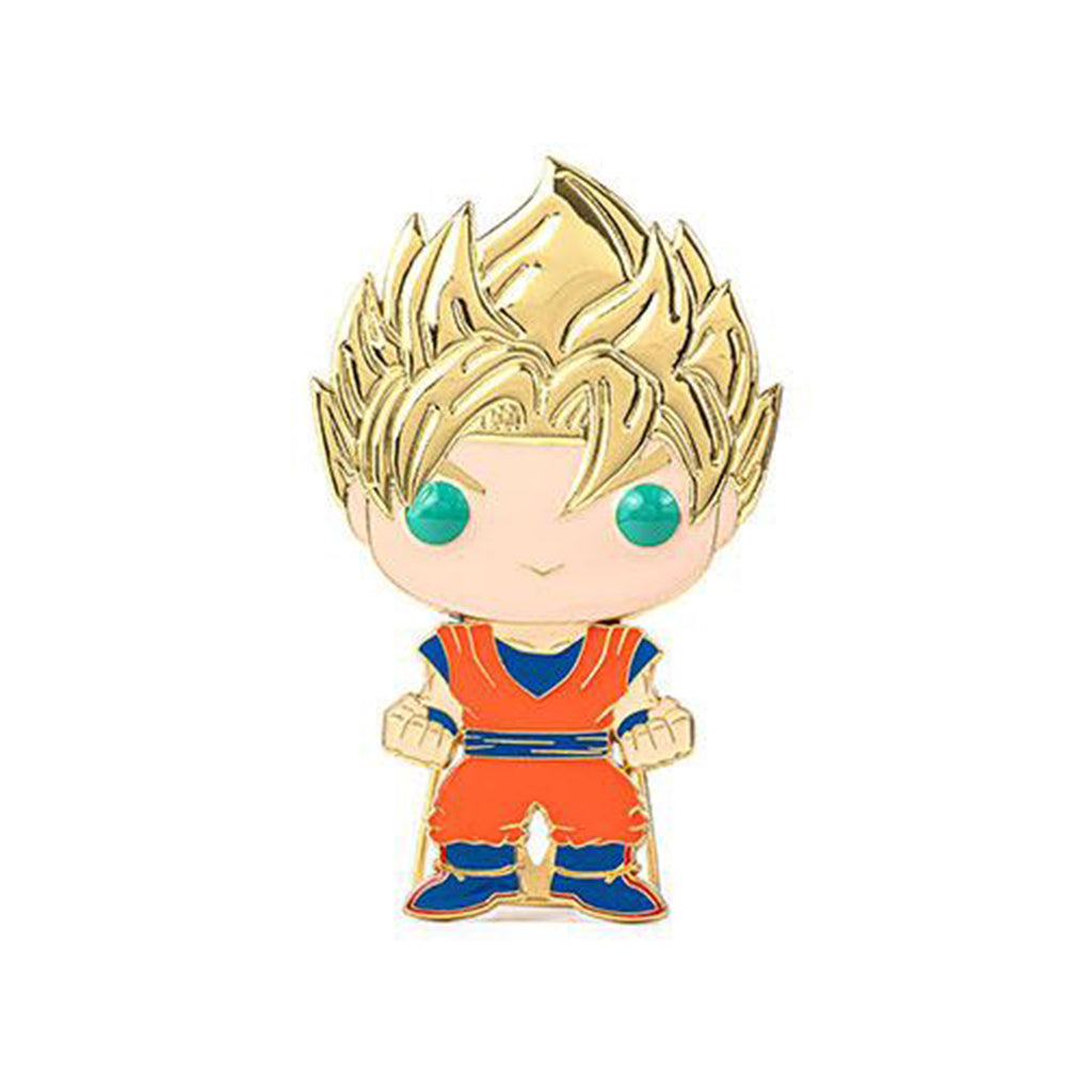 Funko Dragon Ball Z POP Pin Super Saiyan Goku Enamel Pin