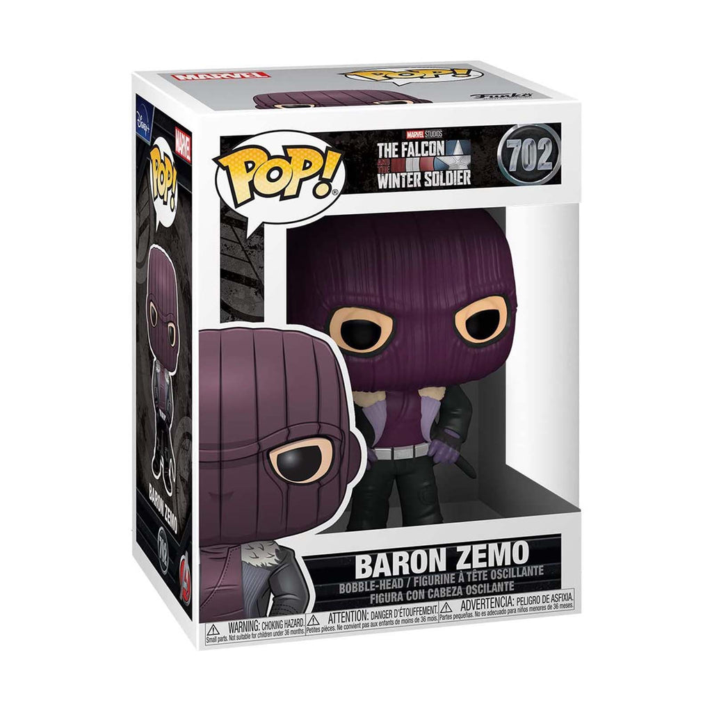 Funko Falcon Winter Soldier POP Baron Zemo Vinyl Figure