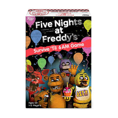 Funko Five Nights At Freddy's Survive 'Til 6 Am Board Game