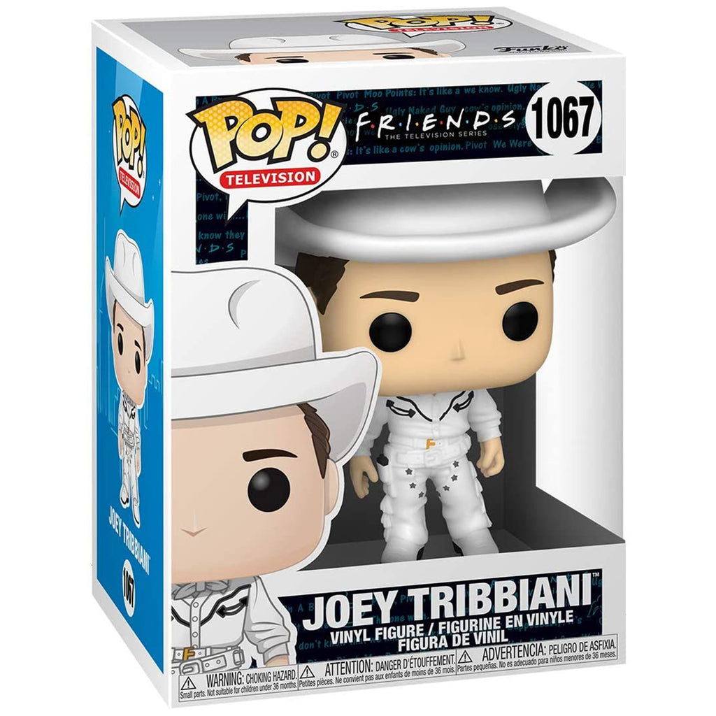 Funko Friends POP Joey Tribbiani Cowboy Vinyl Figure