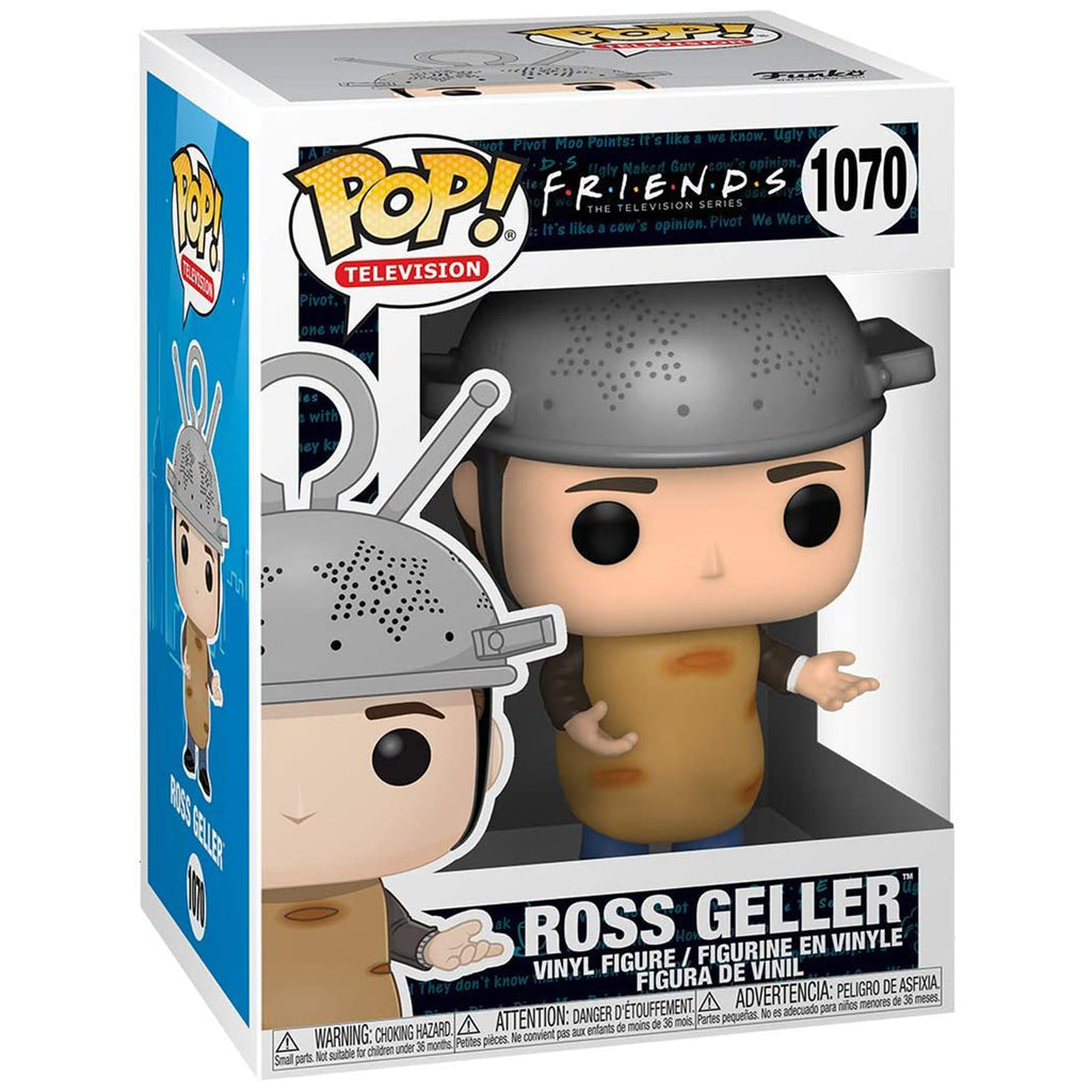 Funko Friends POP Ross Geller Sputnik Vinyl Figure