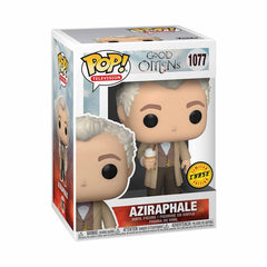Funko Good Omens POP Aziraphale Vinyl Figure CHASE VERSION
