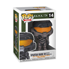 Funko Halo POP Spartan Mark VII Grey Vinyl Figure