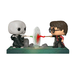 Funko Harry Potter POP Movie Moments Harry Vs Voldemort Figure Set