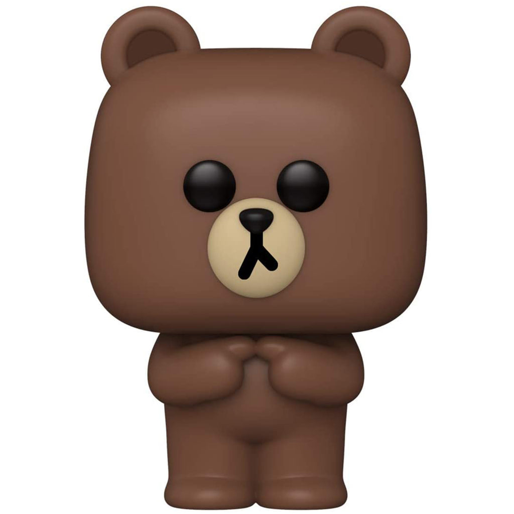 Funko Line Friends POP Brown Bear Vinyl Figure