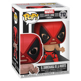 Funko Marvel Lucha Libre POP Chimichanga Muerte Deadpool Figure