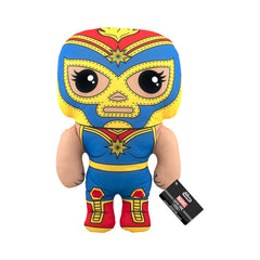 Funko Marvel Luchadores Captain Marvel 17 Inch Plush Figure
