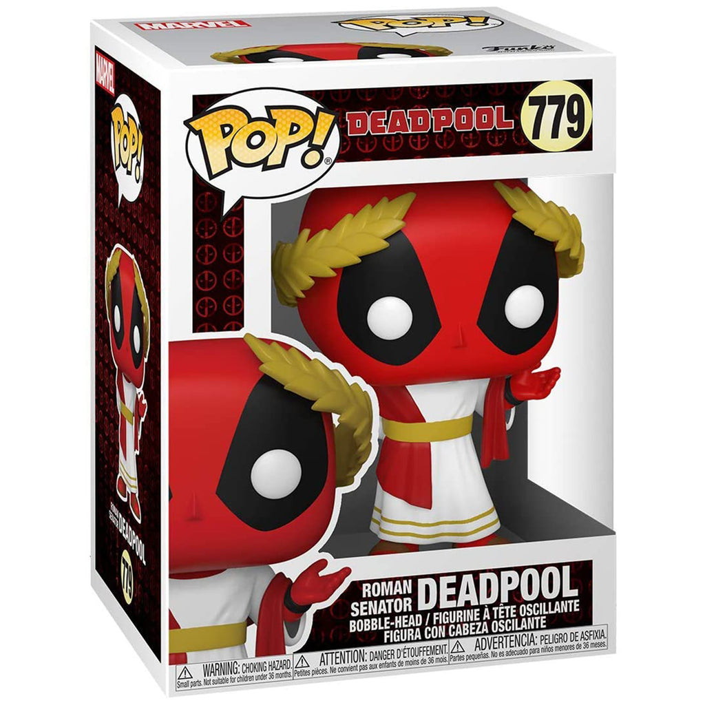 Funko Marvel  POP Roman Senator Deadpool Vinyl Figure