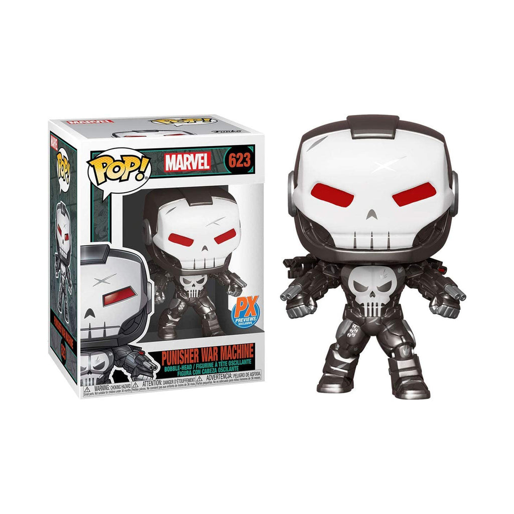 Funko Marvel PX Exclusive POP Punisher War Machine Vinyl Figure