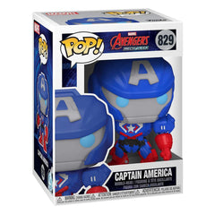 Funko Marvel Pop Marvel Mech Captain America Vinyl Figure