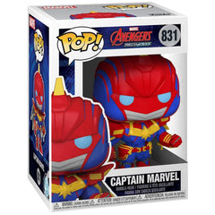 Funko Marvel Pop Marvel Mech Captain Marvel Vinyl Figure