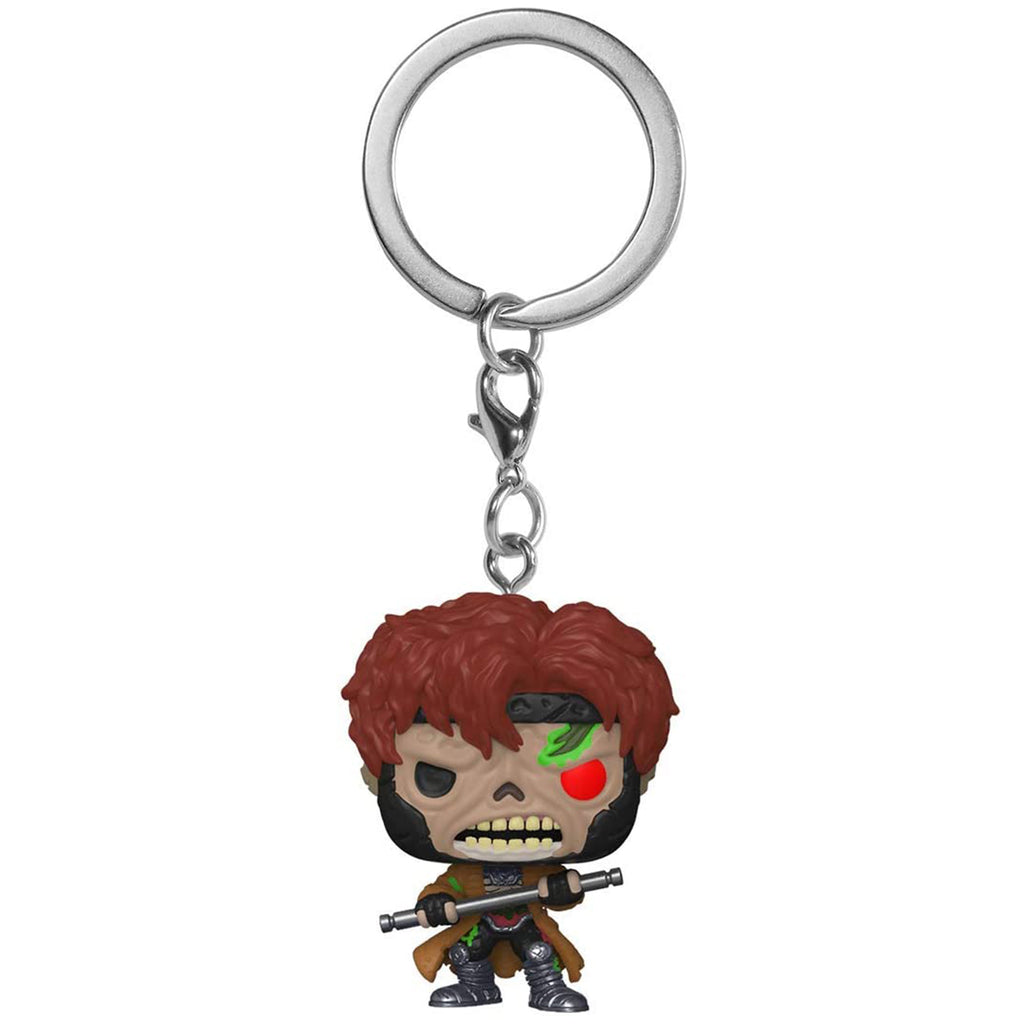 Funko Marvel Zombie Pocket POP Zombie Gambit Figure Keychain