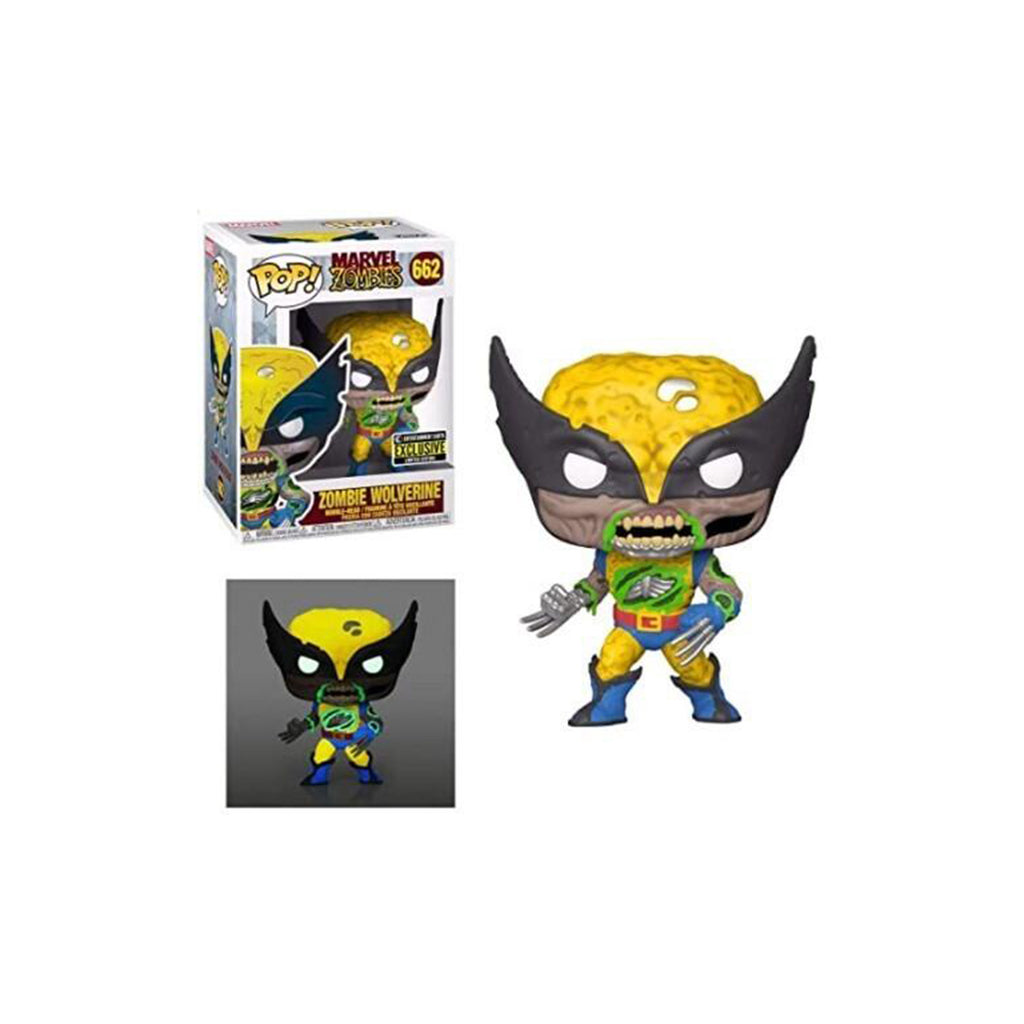 Funko Marvel Zombies EE Exclusive POP Zombie Wolverine Figure