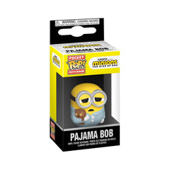 Funko Minions Rise Of Gru Pocket POP Pajama Bob Keychain
