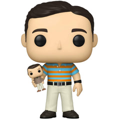 Funko Movies Pop Andy Stitzer Holding Oscar Goldman Figure