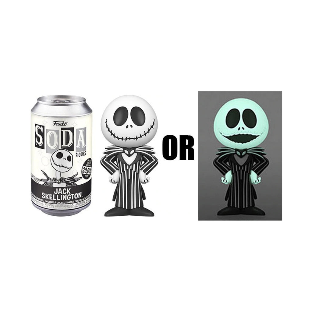 Funko Nightmare Before Christmas Soda Jack Skellington Figure