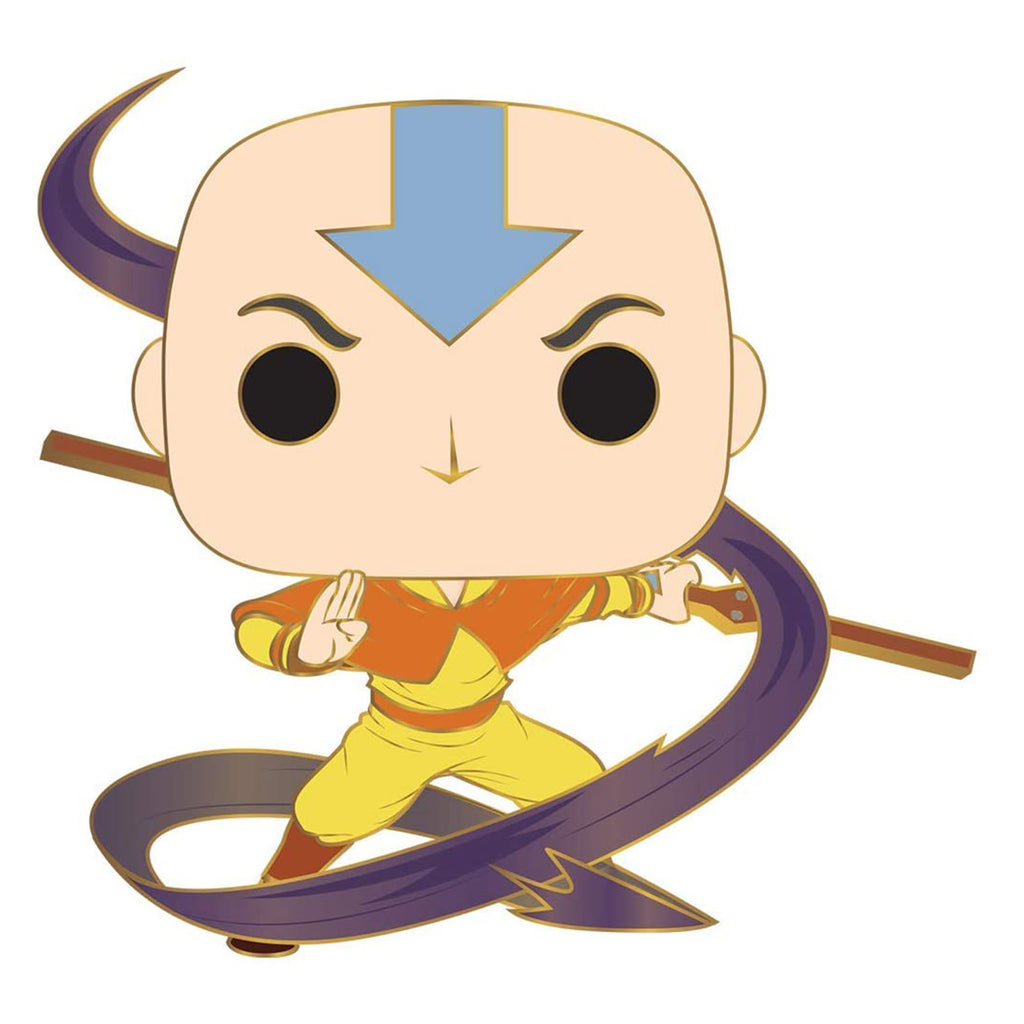 Funko Pop Pin Avatar The Last Airbender Aang Figure