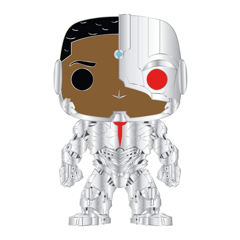Funko Pop Pin Justice League Cyborg Figure