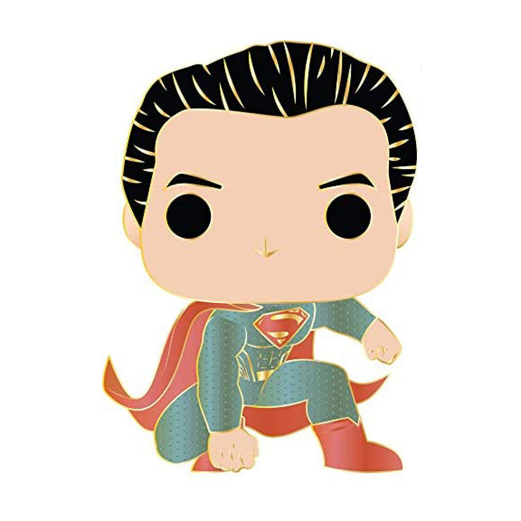 Funko Pop Pin Justice League Superman Figure