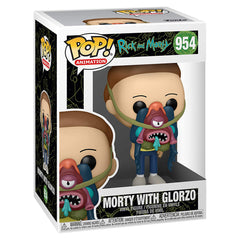 Funko Rick And Morty POP Morty With Glorzo Vinyl Figure