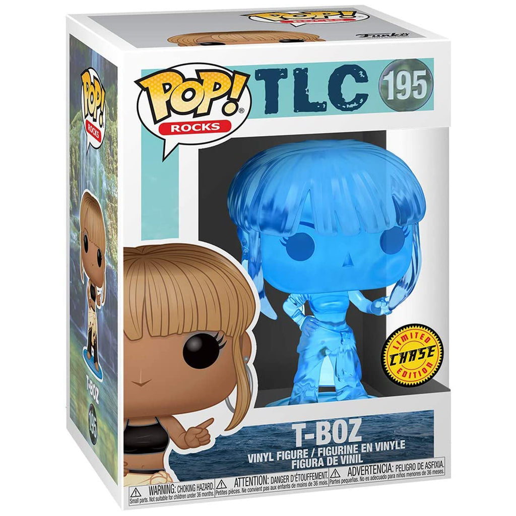 Funko Rocks TLC POP T-Boz Vinyl Figure CHASE VERSION