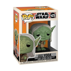 Funko Star Wars POP Concept Series Yoda Vinyl Figure
