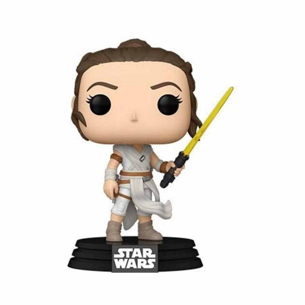 Funko Star Wars POP Rey Yellow Lightsaber Vinyl Figure