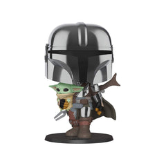 Funko Star Wars POP The Mandalorian With Child 10 Inch Figure